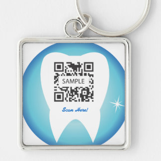 Keychain Template Dental Tooth