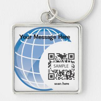 Keychain Template Globe