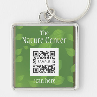 Keychain Template Nature Education