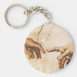 Keychain - The Creation of Adam