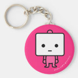 Keychain - Tofu - PinkBack