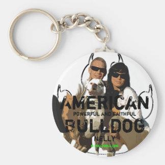 Keychain Unikat Nelly American Bulldog Llavero