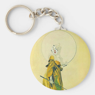 Keychain Vintage Clown Clowning Around Expressions