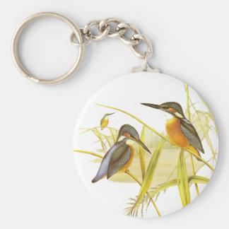Keychain Vintage Kingfisher Birds Keychain