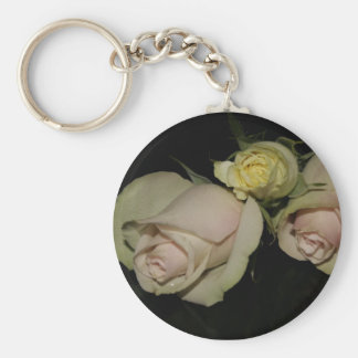 Keychain with 3 roses