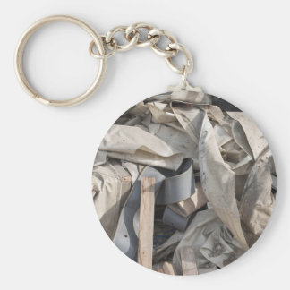 Keychain with Beautiful Junk