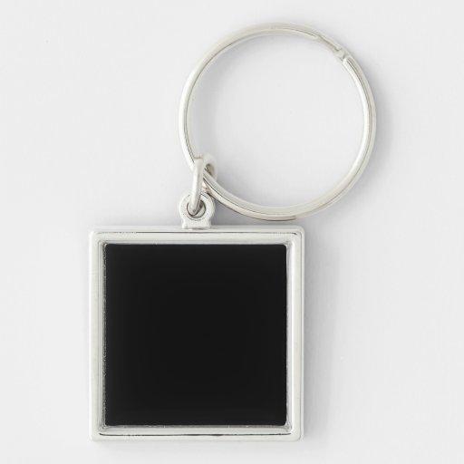 Keychain with  Black Background