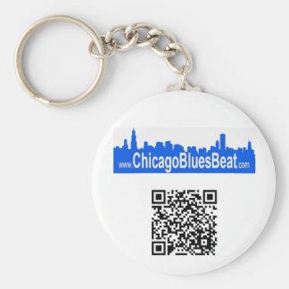 Keychain with calendar QR