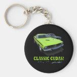 "Keychain with ""CLASSIC CUDAS!"""