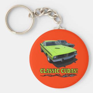 Keychain With Classic Cudas Design