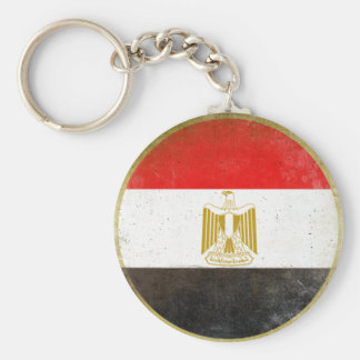 Keychain with Cool Flag from Egypt