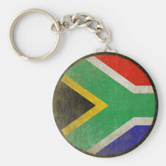 Keychain with Cool Flag from South Africa