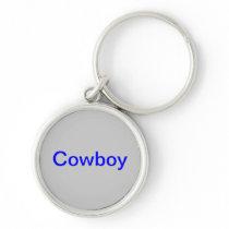 "keychain with ""Cowboy"" logo"