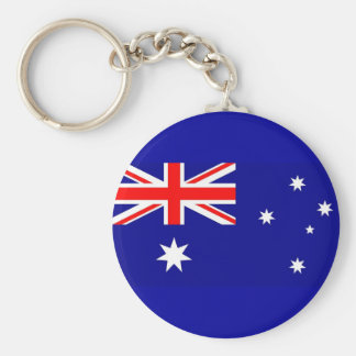 Keychain with Flag of Australia