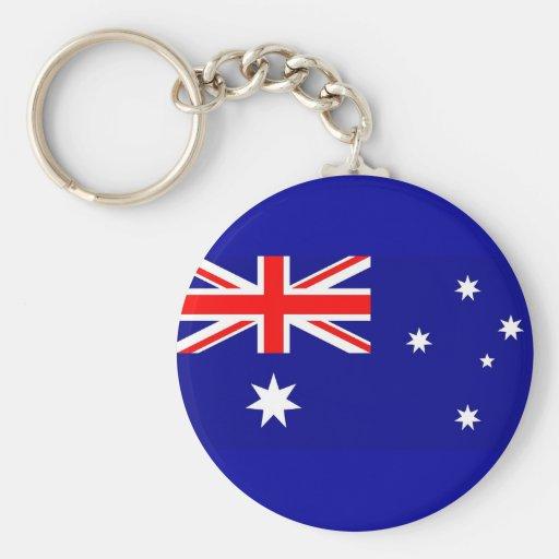 Keychain with Flag of Australia