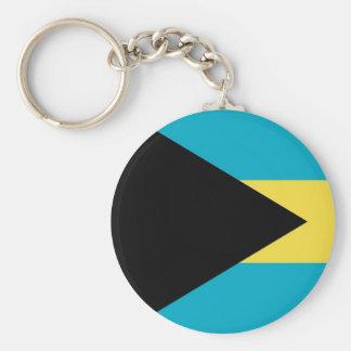 Keychain with Flag of Bahamas