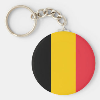 Keychain with Flag of Belgium