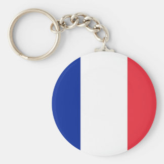 Keychain with Flag of France