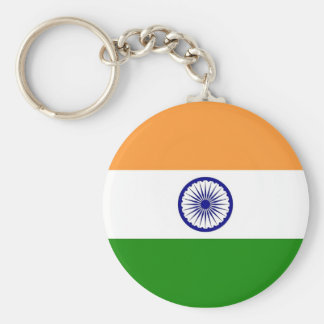 Keychain with Flag of India