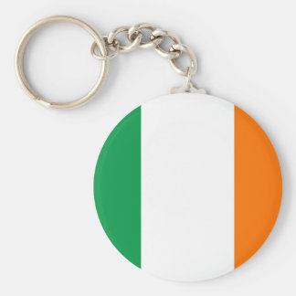 Keychain with Flag of Ireland