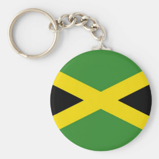 Keychain with Flag of Jamaica