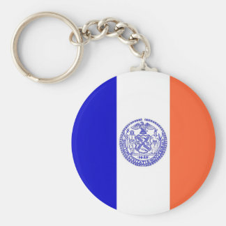 Keychain with Flag of New York City