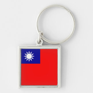 Keychain with Flag of Taiwan
