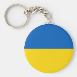 Keychain with Flag of Ukraine