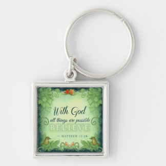 Keychain - With God All Things Are Possible