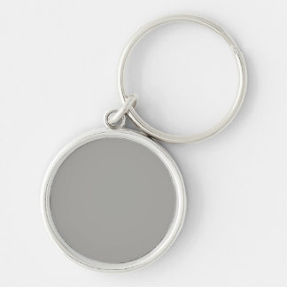 Keychain with Gray Background