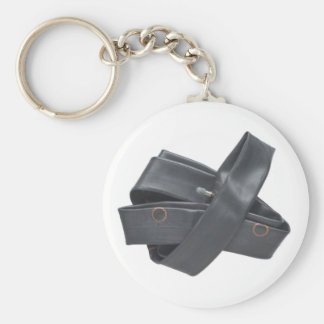 Keychain with Rubber Tire Tube