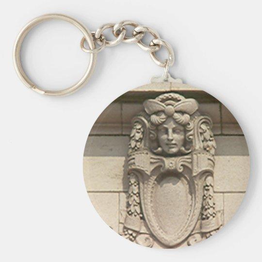 Keychain - Woman in Stone