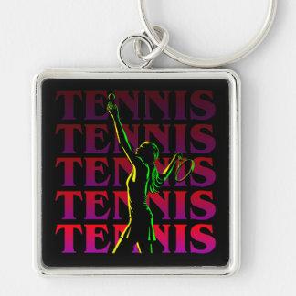 Keychain Women's Tennis 1 RP Dark or Light