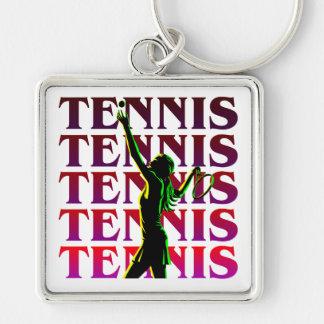 Keychain Women's Tennis 1 RP Light or Dark