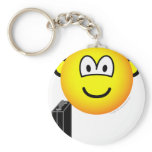 Briefcase emoticon   keychains