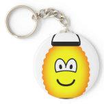 Japanese lantern emoticon   keychains