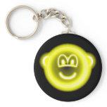 Neon light buddy icon   keychains