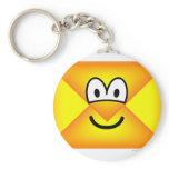 Envelope emoticon   keychains