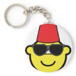 Fez buddy icon   keychains