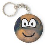 Mars emoticon   keychains