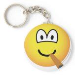 Cigar emoticon   keychains