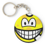 Cheese smile   keychains