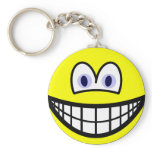 Contact lenses smile   keychains