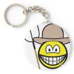 Farmer smile   keychains