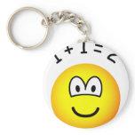 Mathmatics emoticon   keychains