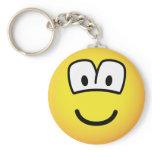 Telly/computer overdose emoticon   keychains