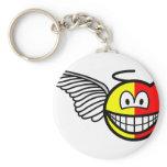 Angel or devil smile   keychains