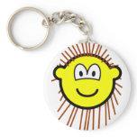 Porcupine buddy icon   keychains
