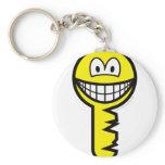 Key smile   keychains