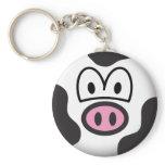 Cow emoticon   keychains
